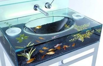 Karizmatic - Design - Smashing magazine - Evier aquarium