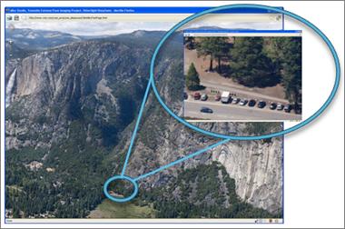 Karizmatic - DeepZoom permet de zoomer sur une image de façon très impressionnante