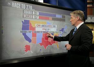 Karizmatic - Ecran Multi-Touch de Perceptive Pixel utilisé pendant la campagne présidentielle  américaine