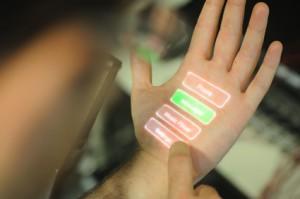 Skinput : transforme ta main en périphérique
